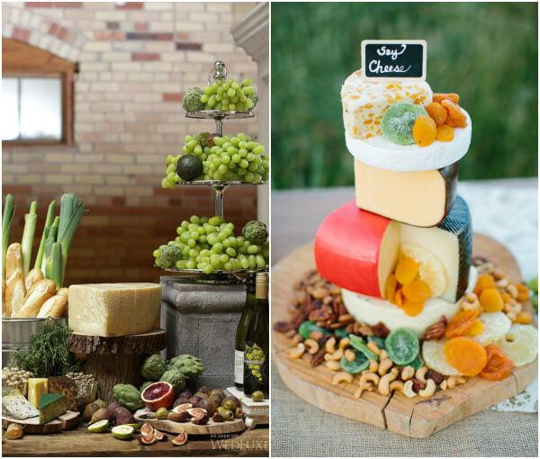 сыр на свадьбе