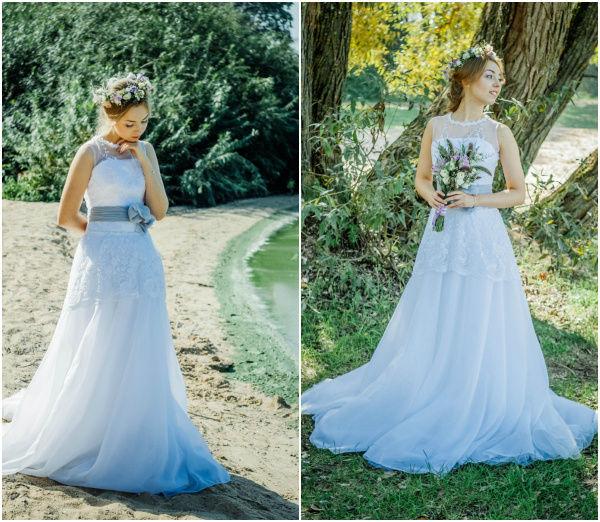 летний образ невесты 2015