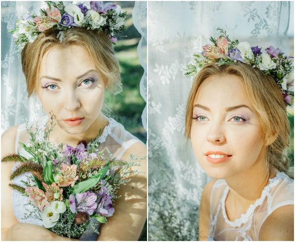образ невесты 2015 лето фото