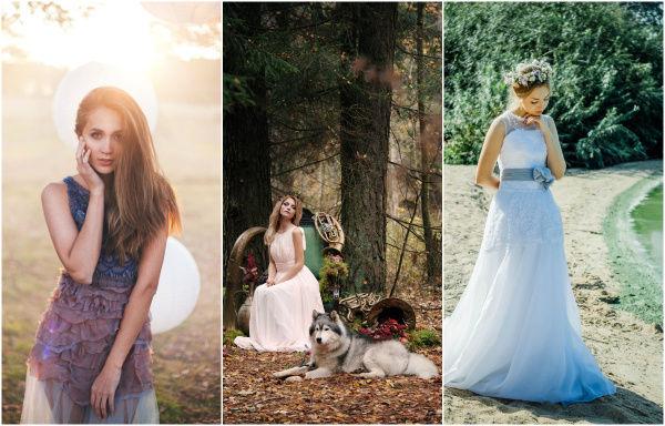 современный образ невесты 2015