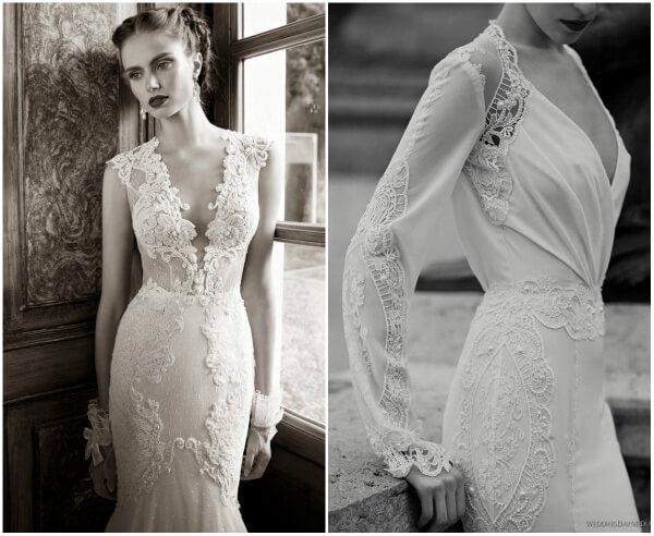винтажные платья на свадьбу