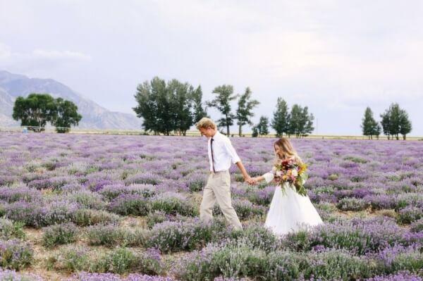 прованс свадебное фото