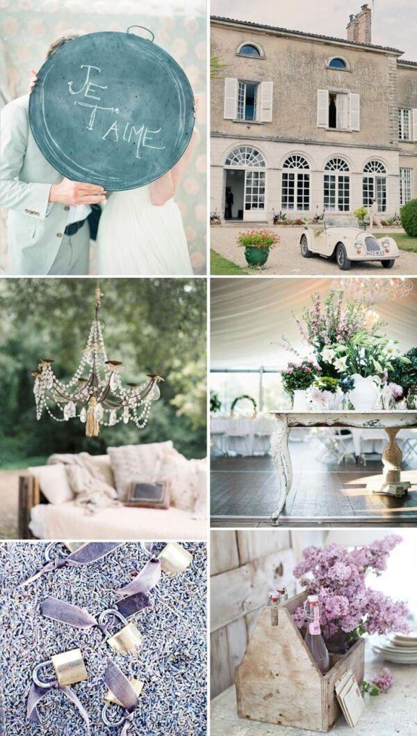 свадьба в стиле французский прованс