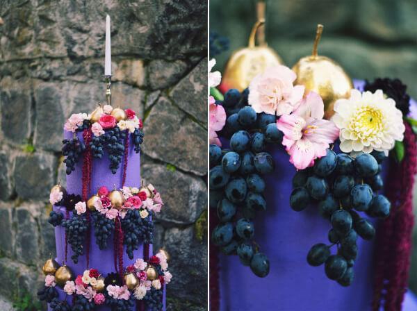 виноград на свадьбе