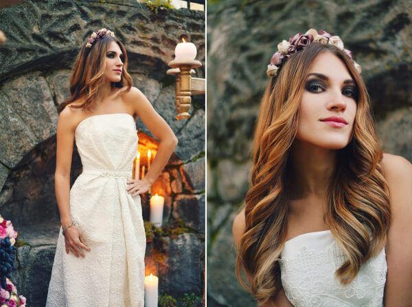 классический образ невесты