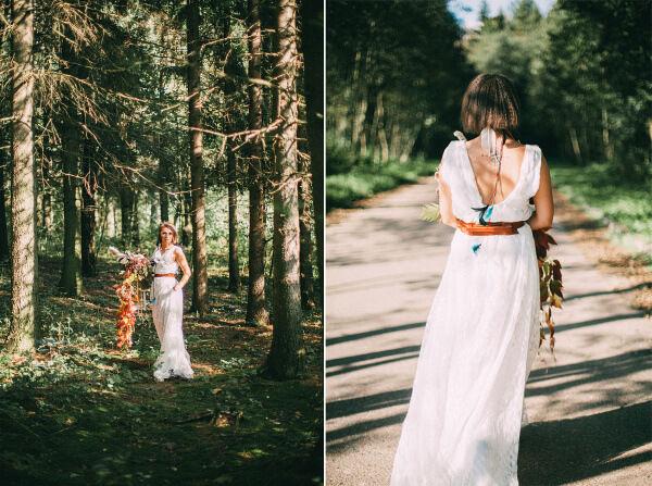 свадебный образ невесты 2015 фото