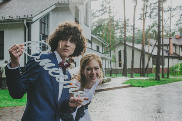 буквы на свадьбу фото
