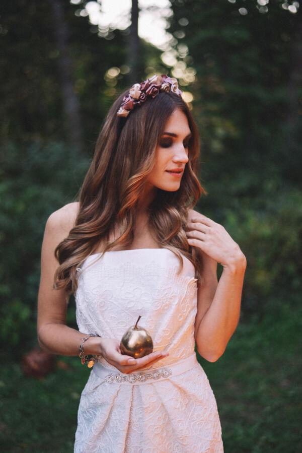 образы невест с венками