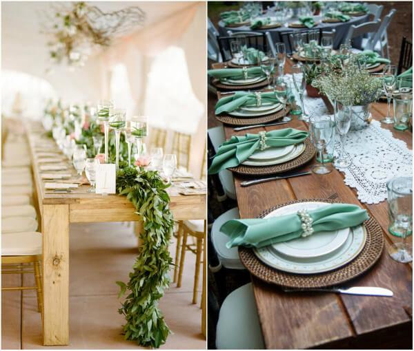 декор столов на свадьбу своими руками