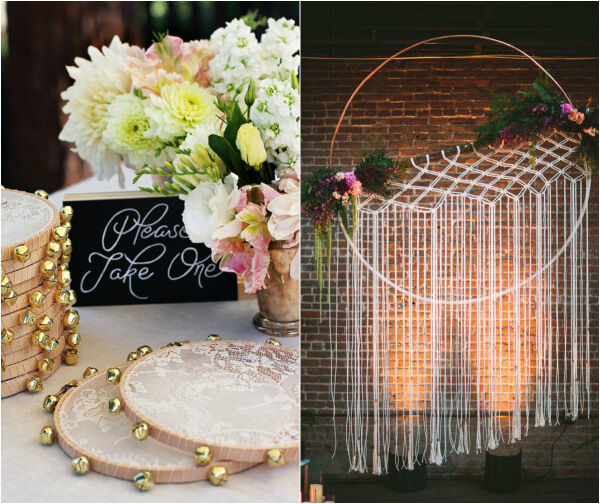 декор зала на свадьбу своими руками