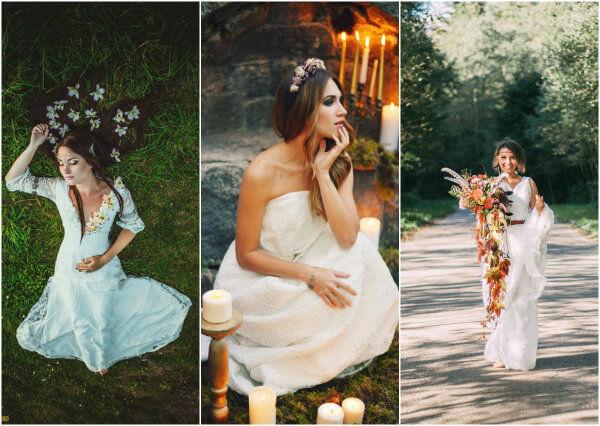 Романтичный образ невесты