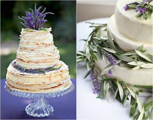 торт в стиле прованс
