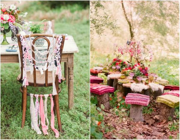 свадьба в стиле бохо шик фото