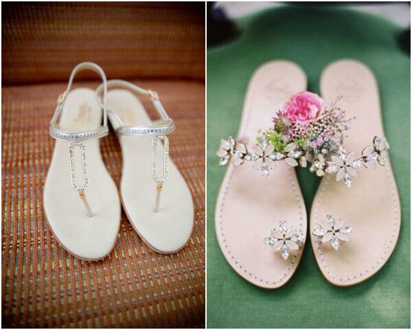 свадебная обувь на плоском ходу
