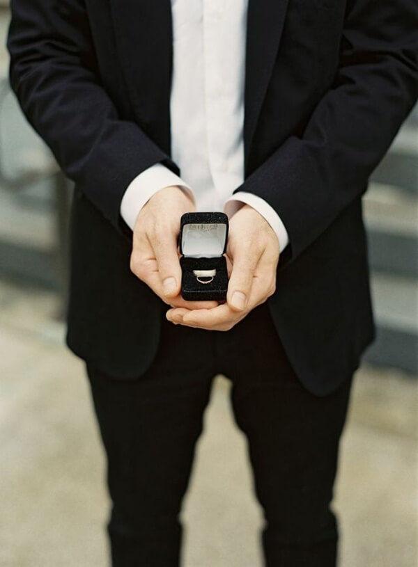 как не забыть кольца на свадьбу