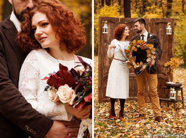 Осенняя фотосессия для двоих
