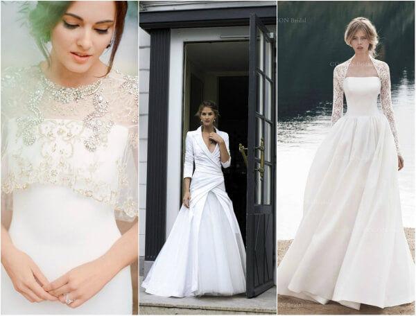 платье невесты осенью