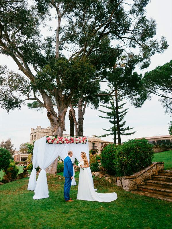 Свадьба в Испании для двоих