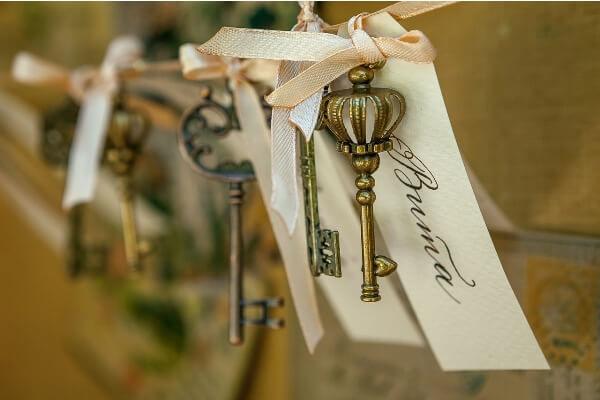 ключи на свадьбе