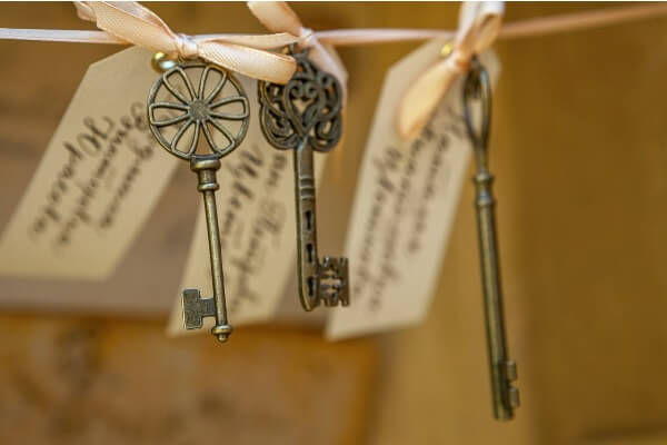 ключики свадьба