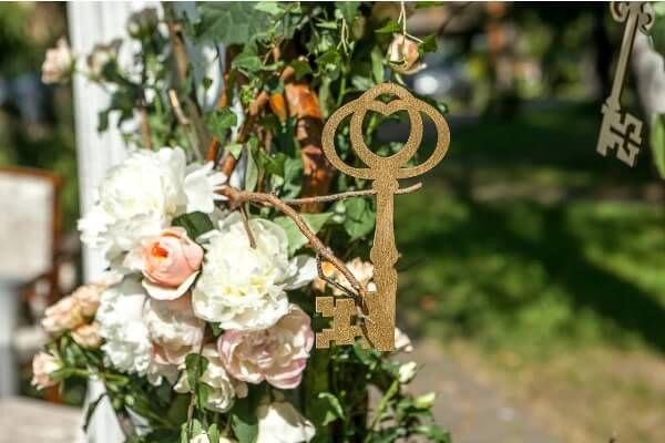 ключики на свадьбе