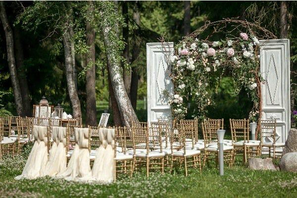 свадебная арка двери