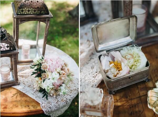 Оформление свадьбы в саду