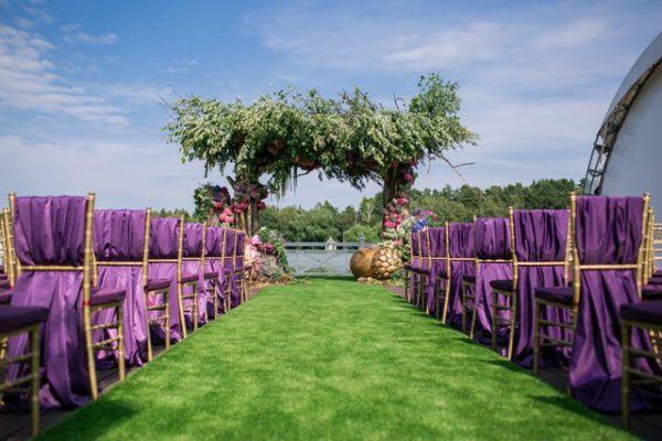 Свадьба в стиле Волшебный лес