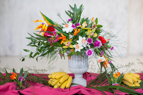 Свадьба в тропическом стиле