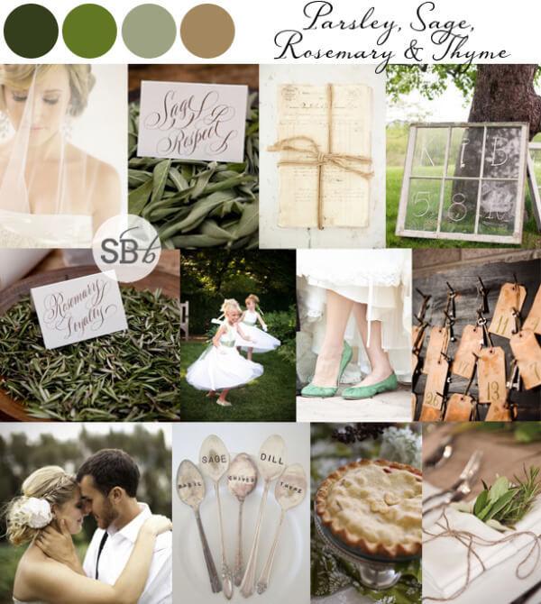 Ботанический стиль свадьбы