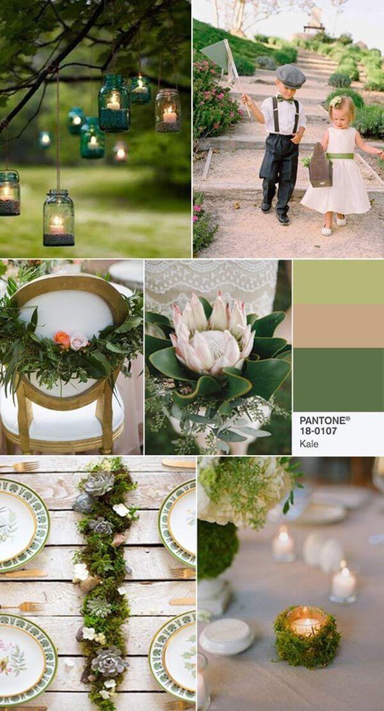 цвет свадьбы 2017 Kale (Листовая Капуста)