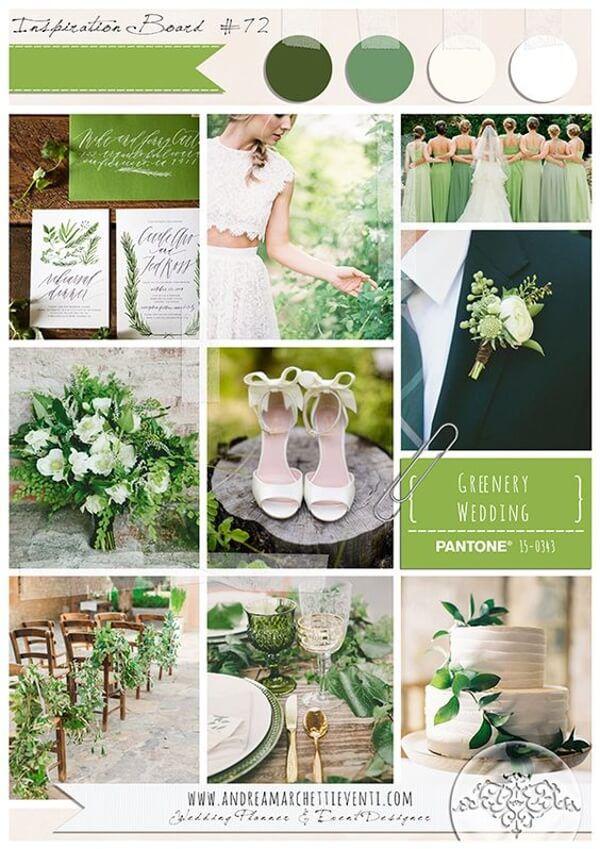 цвет года 2017 Greenery (Зелень)