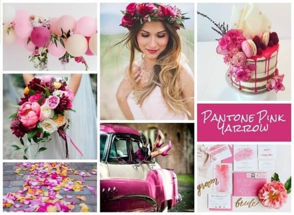 цвет 2017 для свадьбы Pink Yarrow (Розовый Тысячелистник)