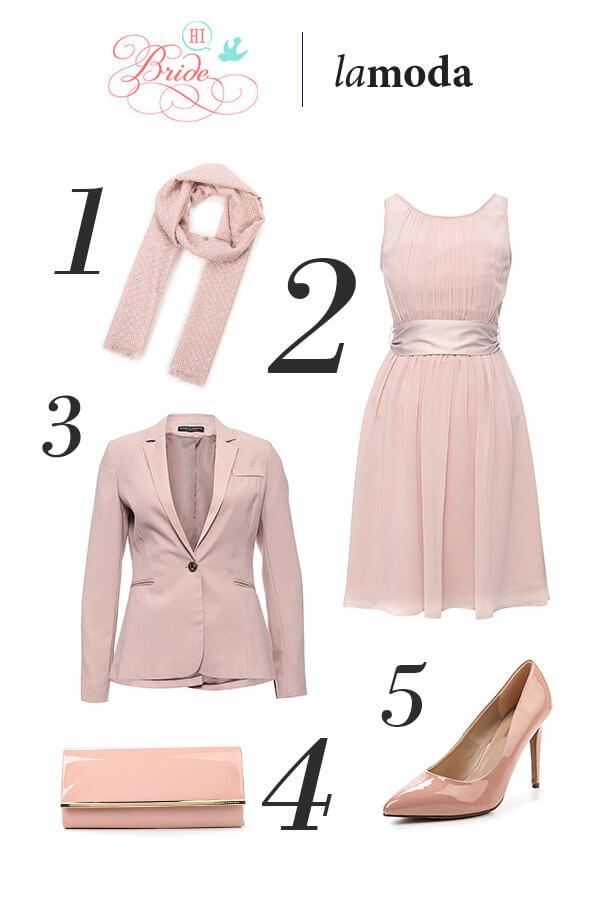 Нежно-розовый цвет