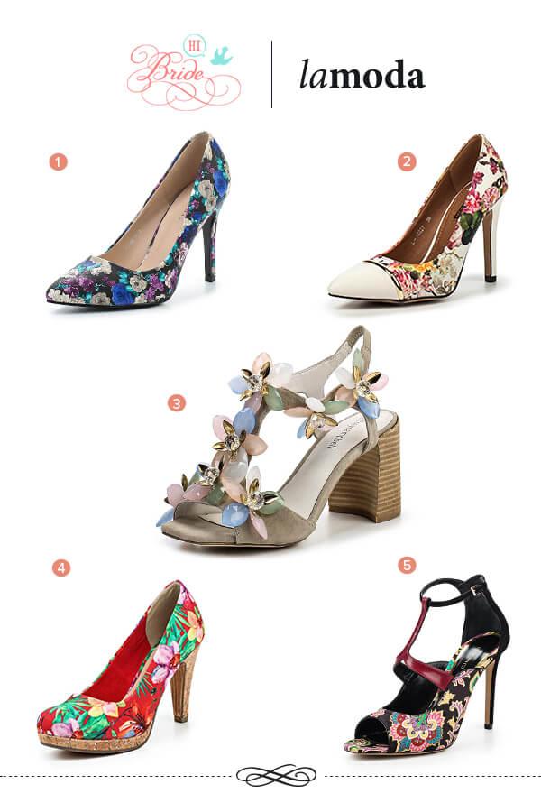 цветочный тренд обувь