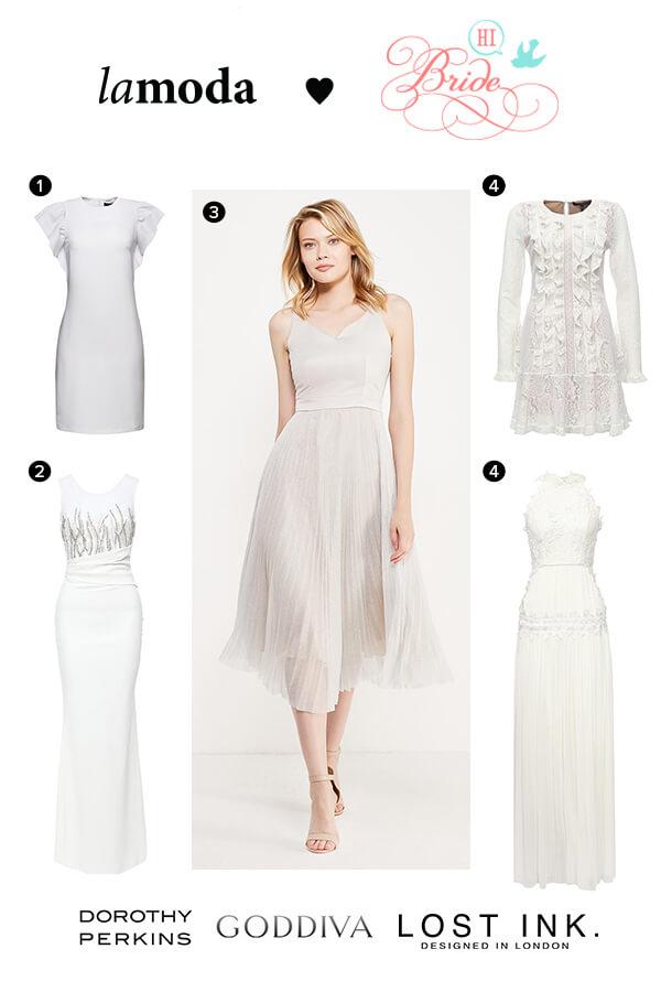 Бюджетные свадебные платья