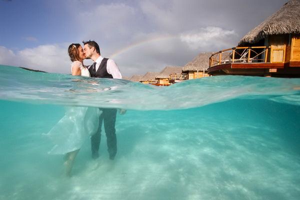 свадебное путешествие на острова Французской Полинезии
