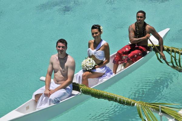 свадебная церемония на таити