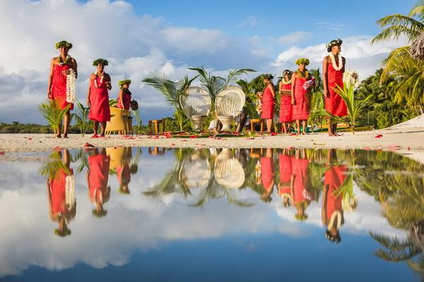символическая свадьба на таити