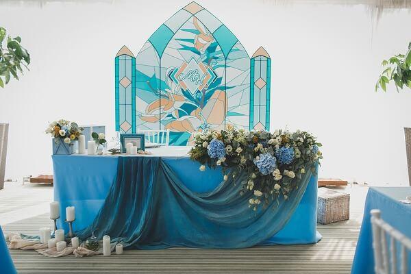 Свадьба в стиле Нормандии