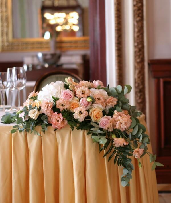 стоимость свадебной флористики