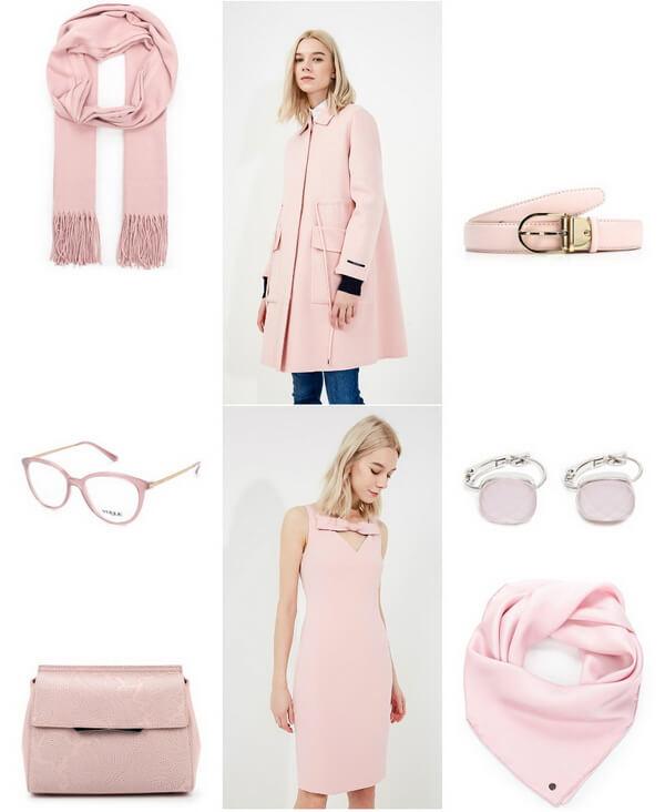 розовый мода 2018