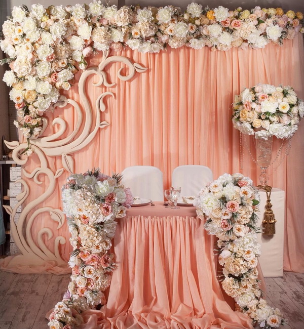 искусственные цветы для свадьбы