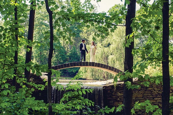 где провести эко-свадьбу