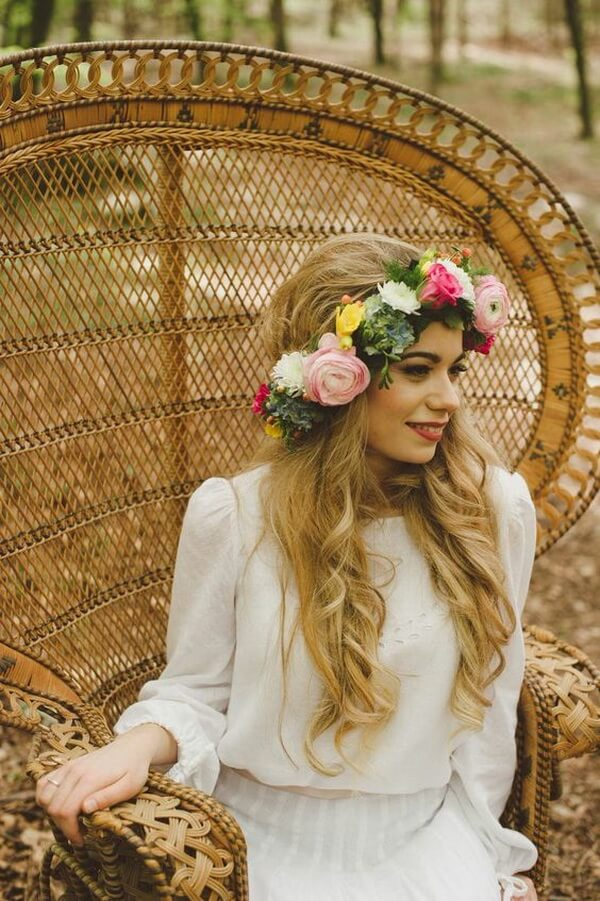 эко-свадьба невеста