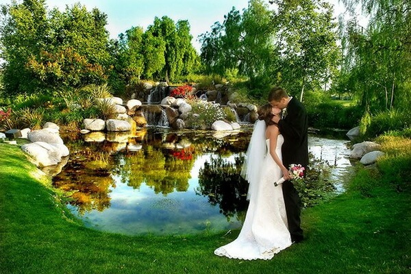 Elegant Small Cheap Wedding Venues Near Me: Свадьба в эко-стиле