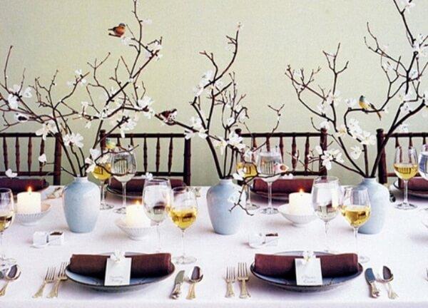 эко-свадьба оформление стола