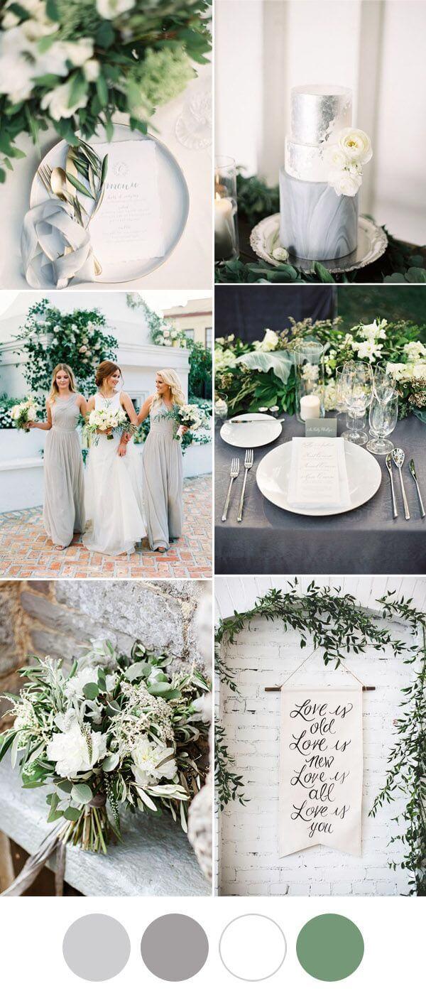 эко-свадьба цвета