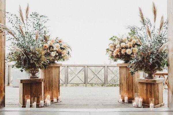 эко-свадьба флористика
