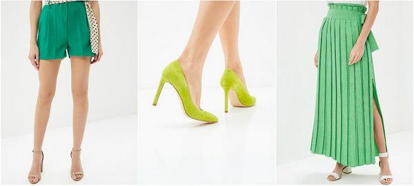 Зеленый цвет для лета